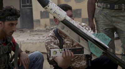 EU lifts arms embargo on Syrian rebels