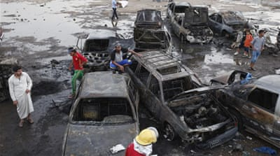 Scores killed in Baghdad car bombings