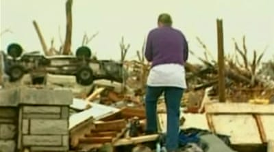 US tornado victims given hope of renewal