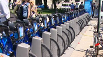 New York City rolls out bike scheme