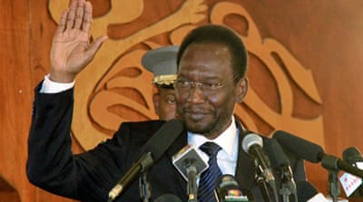 Mali's acting President, Dioncounda Traore,  has said he will not stand in July's elections [EPA]
