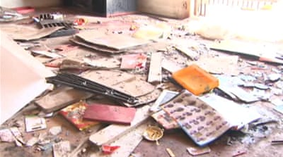 Foreign-owned shops in South Africa looted