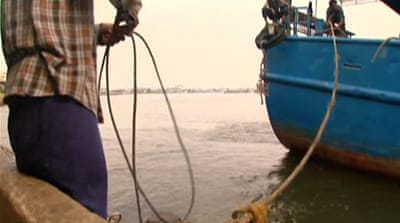 Forced labour on Thai fishing boats