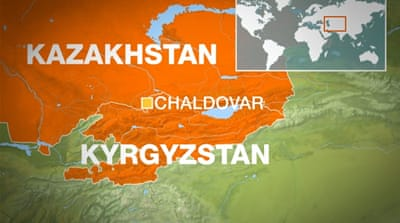 US military plane 'crashes' in Kyrgyzstan