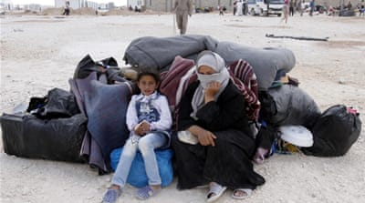 Syrian refugees riot over Jordan camp plight