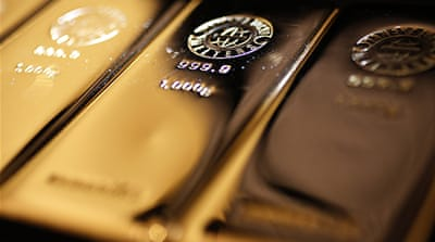 Gold price slump affects S Africa economy