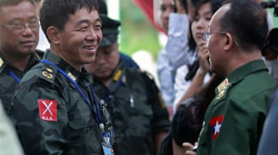 Kachin and Myanmar leaders have spent three days in negotiations [AFP]