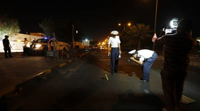 Bomb attacks are rare in Bahrain, despite frequent clashes between security forces and protesters [Reuters]
