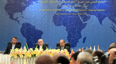 Iran pushes for Syria peace