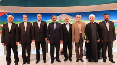 Iran holds presidential debate on economy