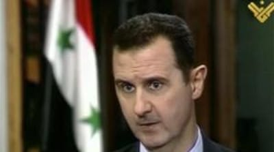 Assad warns Israel as 'rebels flood Qusayr'