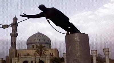 Ten years on: The fall of Saddam's statue
