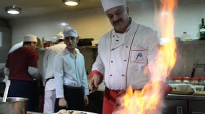 Food feuds continue to simmer in the Caucasus