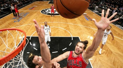 Noah had 24 points, 14 rebounds and six blocked shots to inspire victory in Game Seven [AFP]