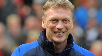 Moyes will succeed Alex Ferguson, who is retiring this month after more than 26 years at Manchester United [AFP]