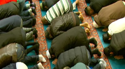 Security stepped up at UK mosques