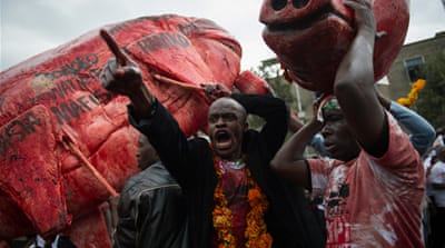 In Pictures: 'Occupy Kenya'