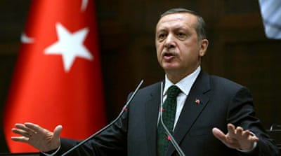 Erdogan has been one of the harshest critics of the Egyptian coup leaders. [AFP]