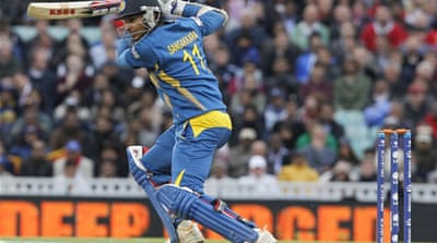 Sri Lanka's win throws open the semi-final race from Group A [AFP]