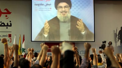 Nasrallah urged his supporters to exercise restraint and maintain stability in Lebanon [AFP]