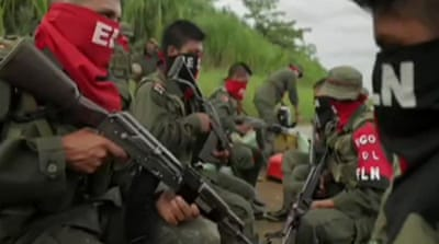 Colombia rebels push to join peace talks