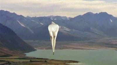 The balloons refine the technology and shape the next phase of Project Loon [EPA]
