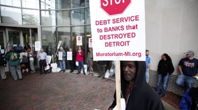 Orr, the state-appointed emergency manager, said there was a 50-50 chance Detroit will declare bankruptcy [AFP]