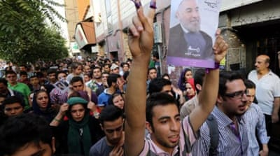Rouhani won the Iranian election. Get over it.