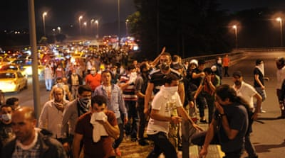 Turkish police clear Istanbul sit-in