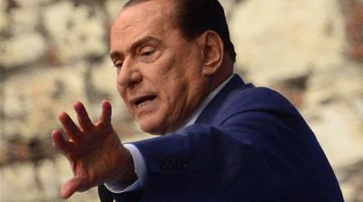 Former Prime Minister Silvio Berlusconi has been sentenced to seven years in prison for abusing his office [AFP]