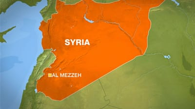 Explosion hits military airport near Damascus