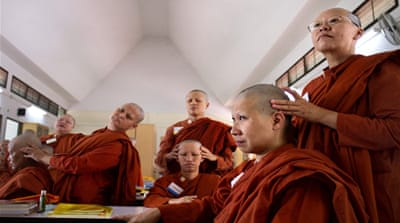 In pictures: Thailand's female monks