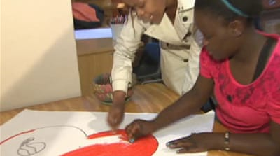 Art to the rescue of abused S Africa children