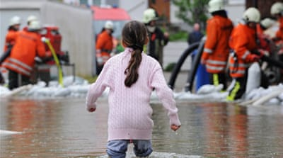 Central Europe hit by major floods