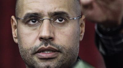 The ICC has asked Libya to send Saif al-Islam to The Hague [AP]