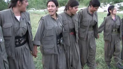 PKK fighters set up camp in northern Iraq