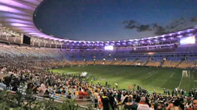 Brazil's iconic stadium in the spotlight