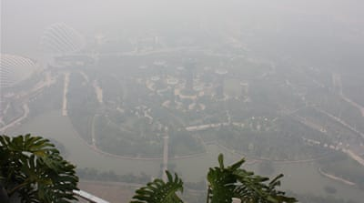 Singapore's dangerous pollution problem