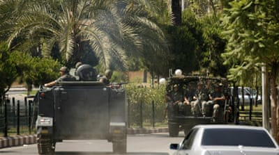 Lebanese troops deployed to the city of Sidon in June [Archive image: EPA]