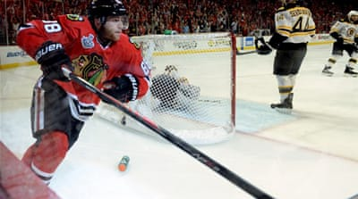 Chicago took a 3-2 edge in the best-of-seven championship [AFP]