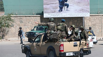 Deadly attack on NATO compound in Kabul