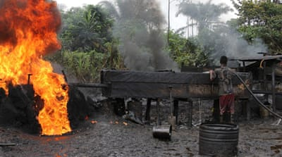 Oil theft in Nigeria