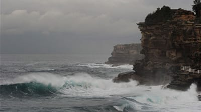 Warnings have been issued for the Sydney area as more stormy weather approaches over the next few days  [AFP]