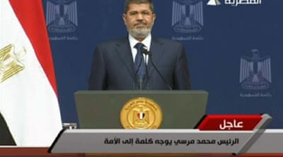 Morsi: Divisions threaten to paralyse Egypt
