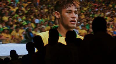 Neymar was voted man of the match in Brazil's first three games at the Confederations Cup [AFP]