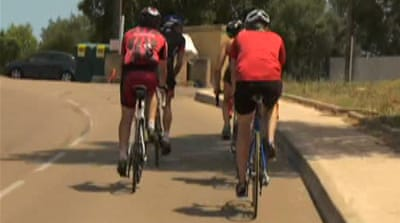 Tour riders try to clean up cycling's image