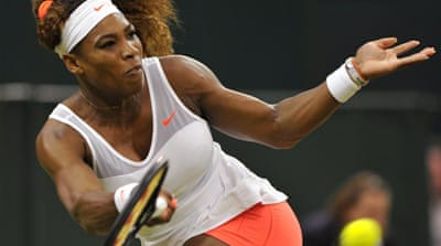 Serena has compiled a 67-4 record this season, including French Open and US Open crowns [Reuters]