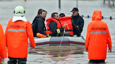 Central Europe floods leave several dead