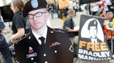 Manning is charged with aiding the enemy [Reuters]
