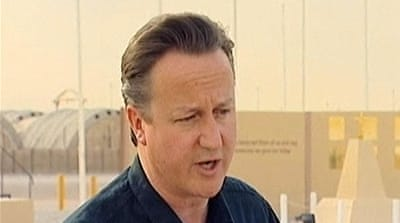 British PM backs talks with Taliban